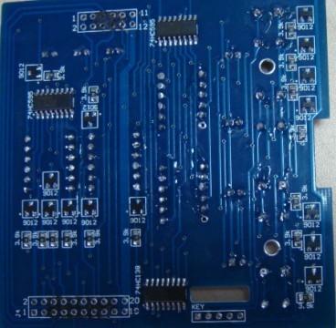 电路板焊接后