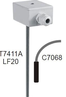 霍尼韦尔lf20风管式温度传感器
