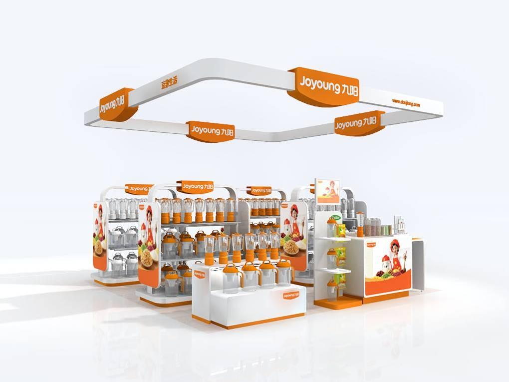供应家电展示柜,货架展架设计制作