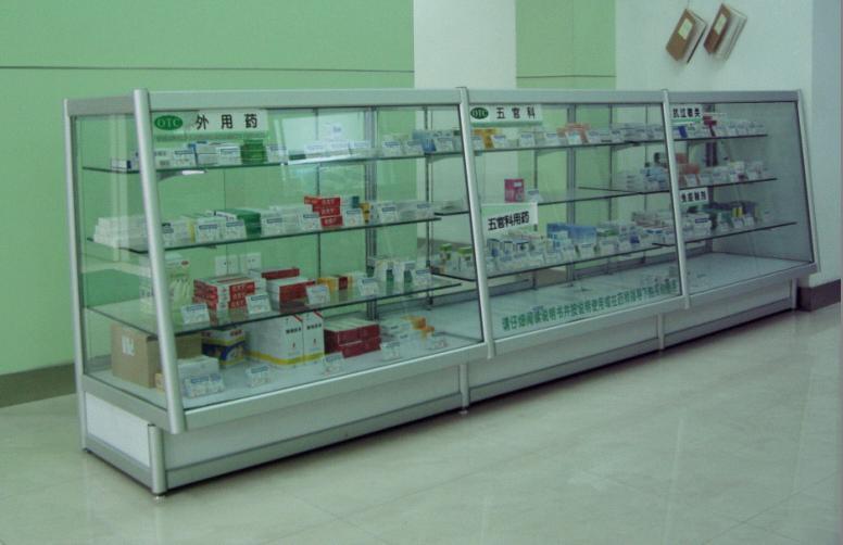 医药展示柜  药品柜台  药店专用柜台  上海药品柜台