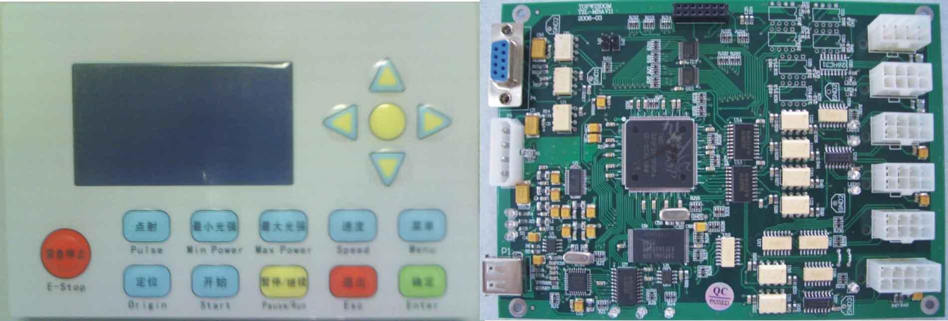 Ⅱ型激光雕刻/切割机电控系统产品大图