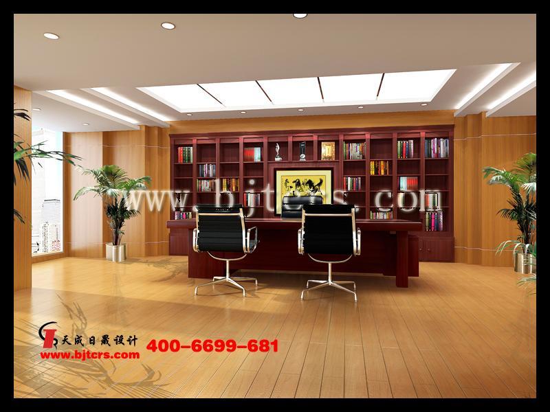 北京专业设计公司老总办公室效果图制作施工图深化图纸制作图片