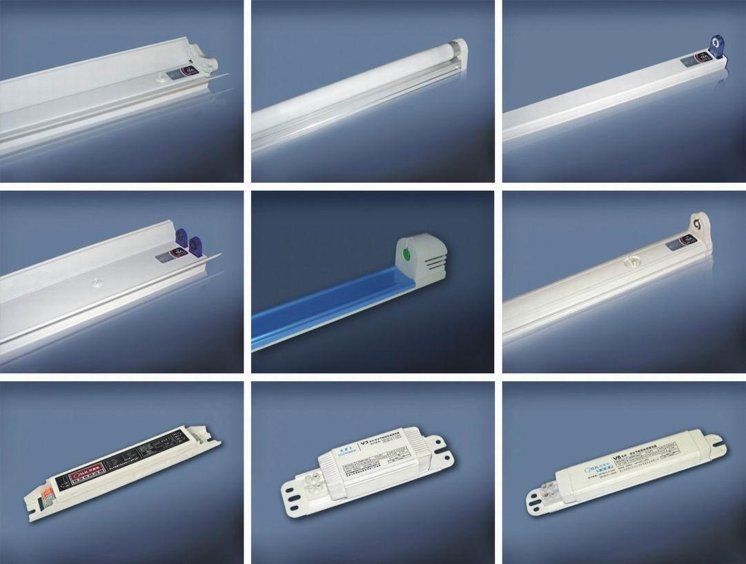 电子电感荧光灯支架,电子电感镇流器