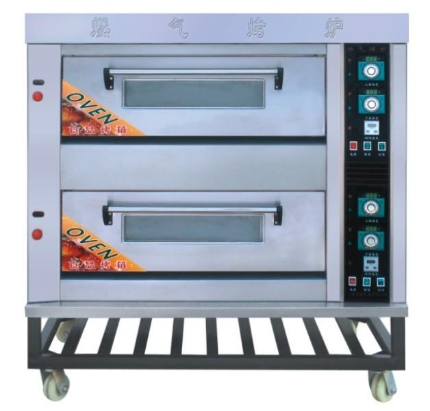 二层四盘燃气烤炉|烤箱|烤饼机|烤面包炉|糕点机