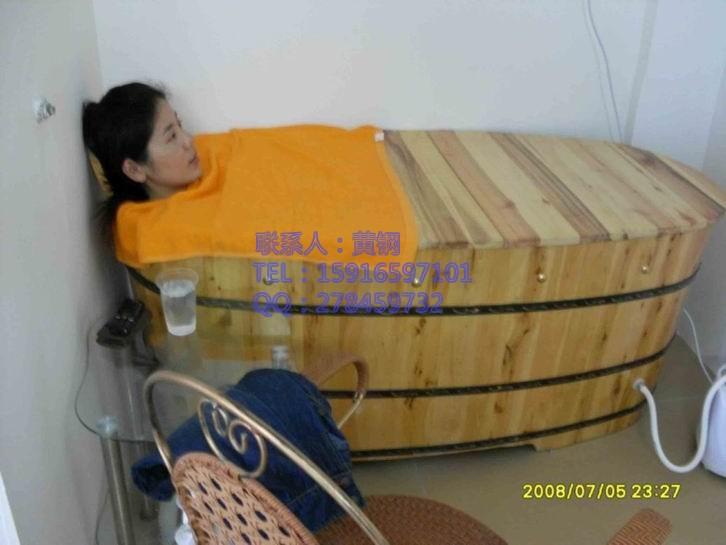 河北邢台熏蒸木桶,泡澡桶,泡浴桶,香柏木全身熏蒸桶,桑拿桶,湿蒸桶