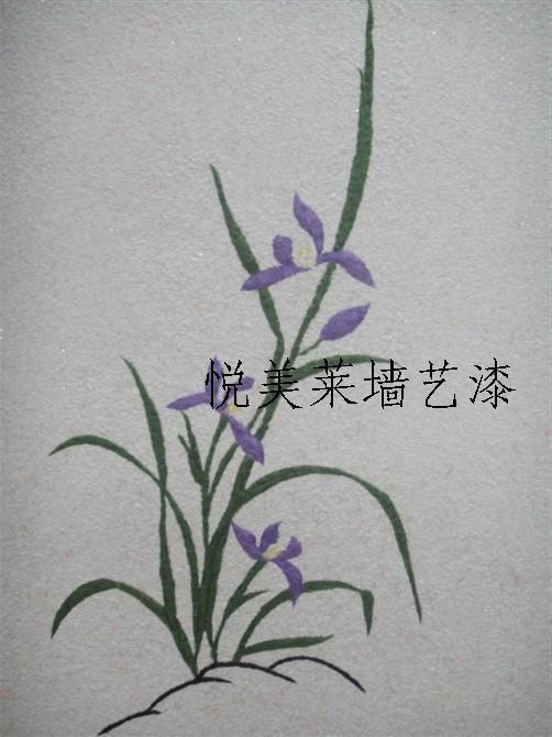 所属公司:图片说明 悦美莱壁纸漆是一种室内装修新材料,它