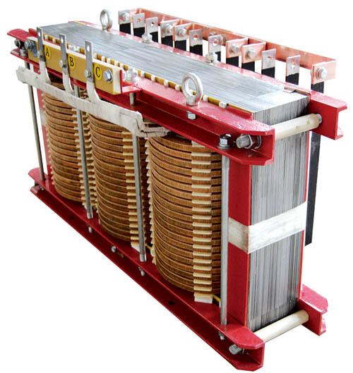 三相五柱变压器产品大图图片