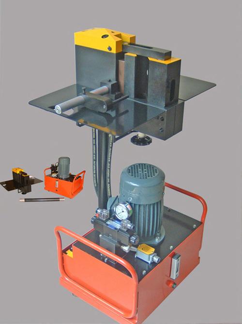 轻型母线加工机 - 昆明昆仕力液压机械制造有限公司图片