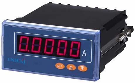 主要测量电网中的电流参量 扩展:ac5a以上需配互感器 选配:rs485通讯