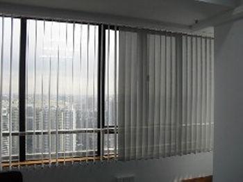 广州窗帘效果图广州垂直帘窗帘图片广州办公室窗帘
