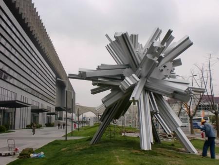 上海雕塑制作不锈钢雕塑