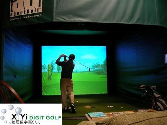 模拟高尔夫 室内高尔夫 室内模拟高尔夫产品大图