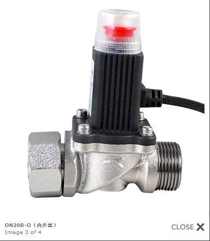 燃气电磁阀图片