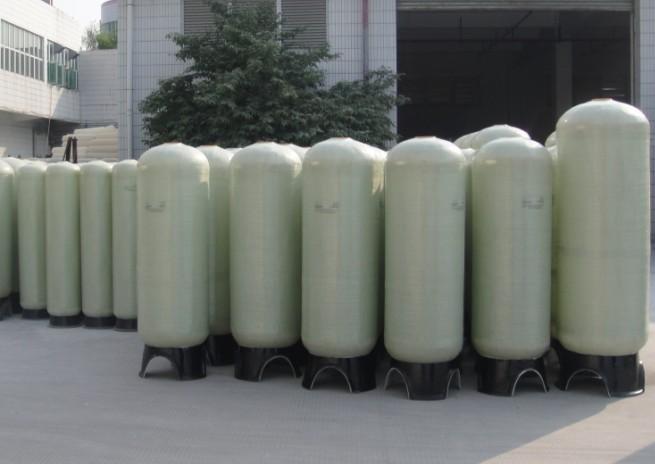 玻璃钢桶 水处理过滤罐 水处理设备 压力桶 上下布水