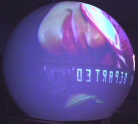 模拟半球360度接线图