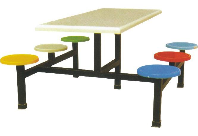 2011东莞最畅销玻璃钢餐桌椅/摆件餐桌椅椅子食堂图片