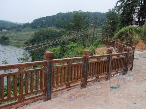 主要产品有仿木花架,仿木栏杆