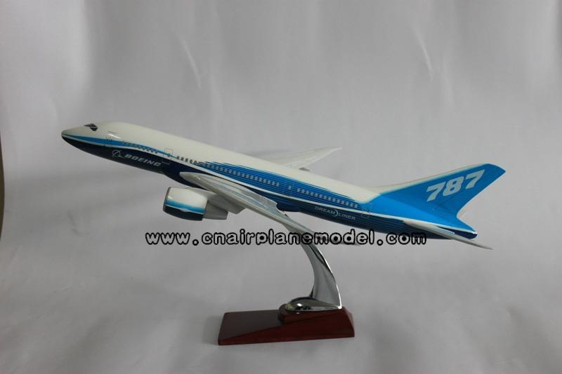 模型飞机波音b787原型机航空飞机模型