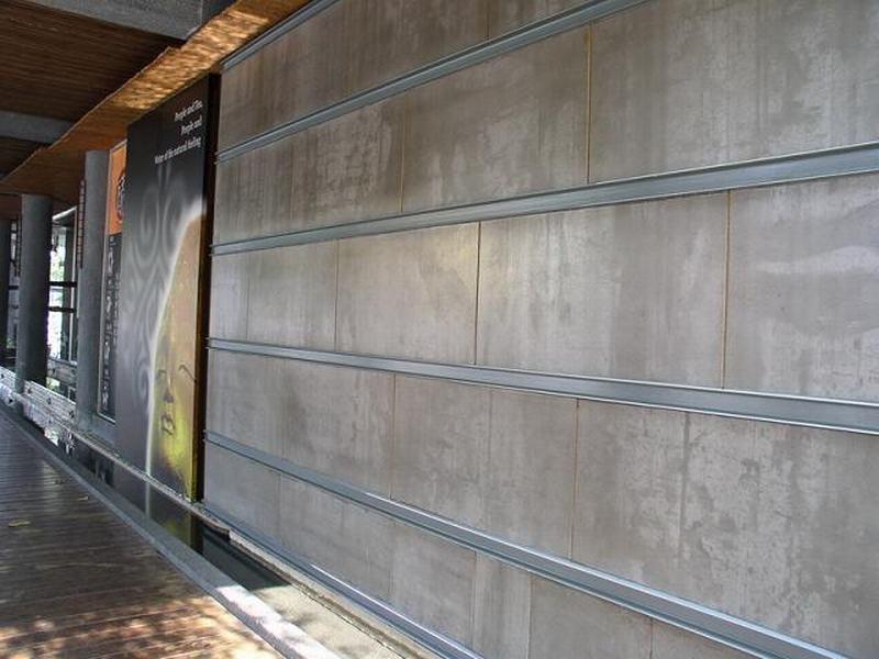 清水纤维水泥板 装饰板 室内隔断板(图)产品大图