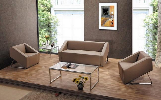 广东办公组合休闲沙发/客厅组合休闲沙发图片产品大图