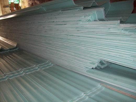 钢结构厂房采光带 采光瓦 830型采光板 (厚度1.2mm)